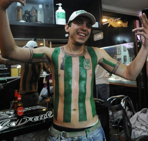 Man Gets Full Football Jersey Tattoo To Honor Team Icon