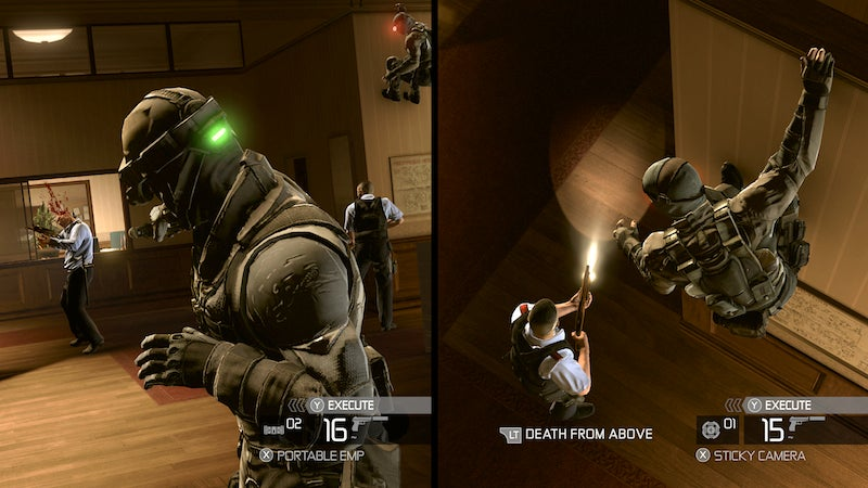 Splinter Cell Conviction Review: The Best Lurks In Shadows