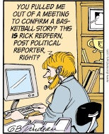 Doonesbury declares blogging over