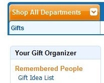 Best Gift-Tracking Tool: Amazon Gift Organizer