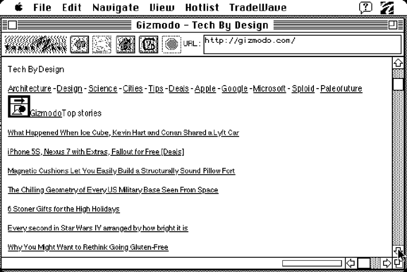 You Can Actually Browse the Web on a 27-Year-Old Mac Plus
