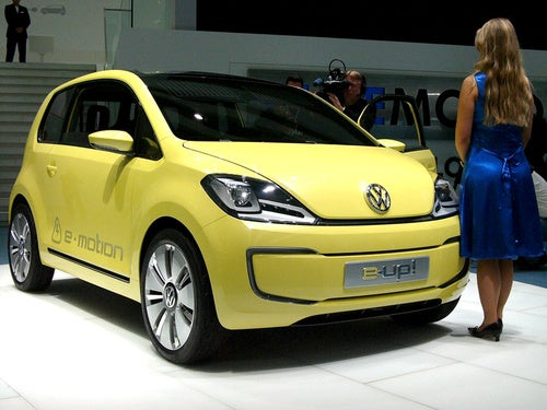 Volkswagen E-Up! Concept: Enjoy The Silence