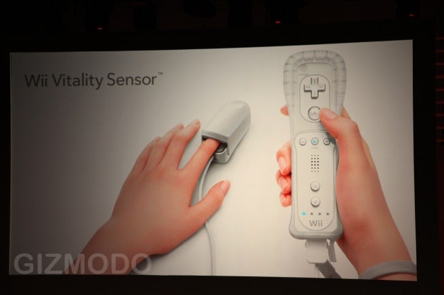 Wii Vitality Sensor Turns Wii Into Definitive Nursing Home Console