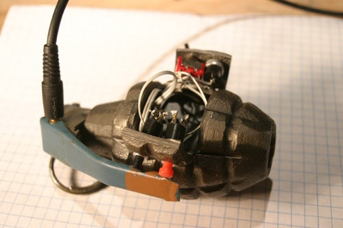 Build Your Own MP3 Grenade For Free Cavity Searches