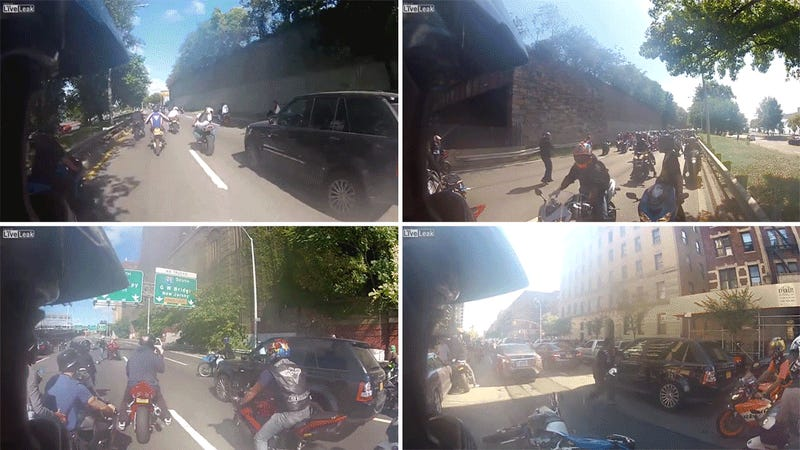 Everything You Need To Know About The Terrifying SUV Vs Biker Attack