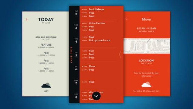 Moleskine Timepage Is a Sleek, Timeline-Focused Calendar for iOS