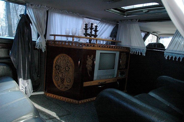 Ukrainian Limousine Sets All Time Ugly Record