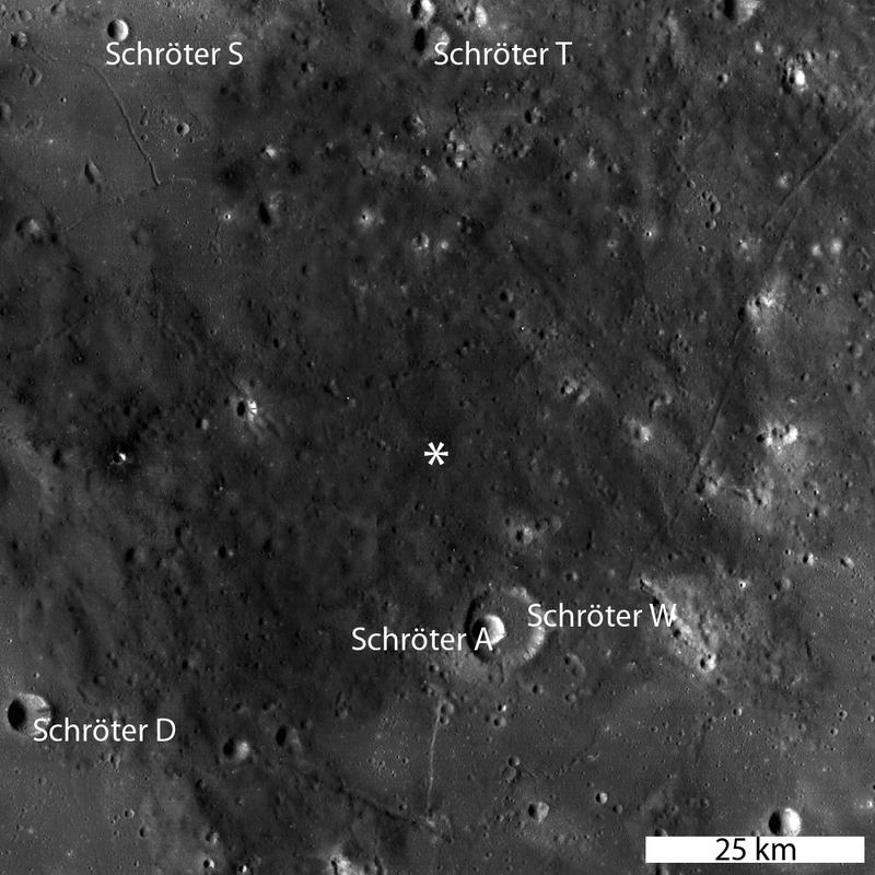 Take a good, long look at the Moon's ash hole