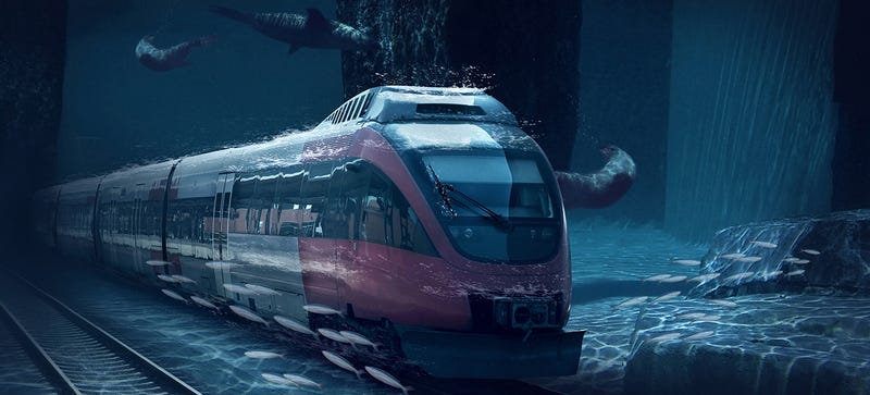 China's Batty Proposal For an Under-Sea Train to the United States