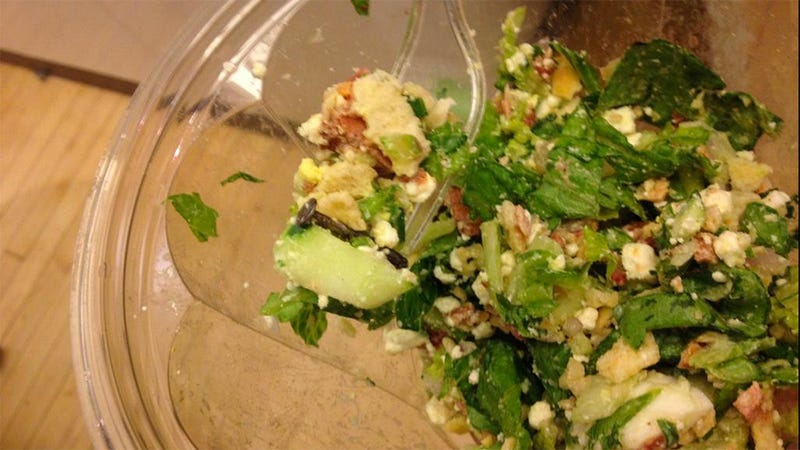 Man Allegedly Finds Rusty Nail in Food at Aptly Named 'Just Salad'