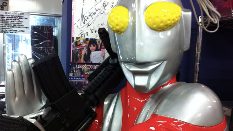 Damn Right, Ultraman with a Plastic Gun