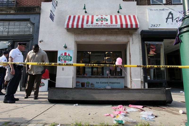 Philadelphia Child Killed By Falling Metal Gate At Water Ice Shop