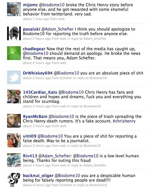 How a Fake Twitter Death Report Tragically Came True