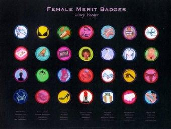 """Female Merit Badges Represent """"Rites Of Passage"""""""