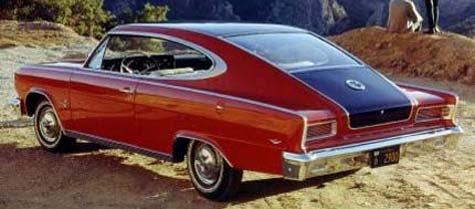 More Kenosha Iron: The 1965-66 AMC Marlin