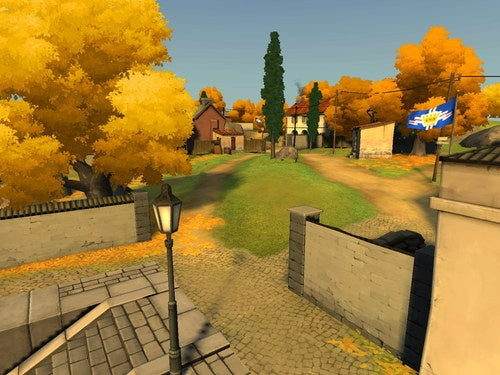 The Autumn Tones Of The New Battlefield Heroes Map