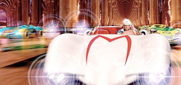 Trailer for Wachowski Brothers' Speed Racer Has CGI, John Goodman and the Creamy Goodness of Christina Ricci