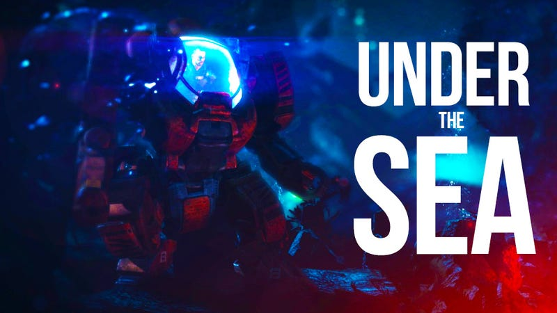 Riding a Mech To The Bottom Of The Ocean In Mass Effect 3's Leviathan DLC