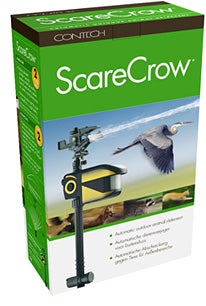 ScareCrow Sprinkler Deterrent: For Timid Beasts Only