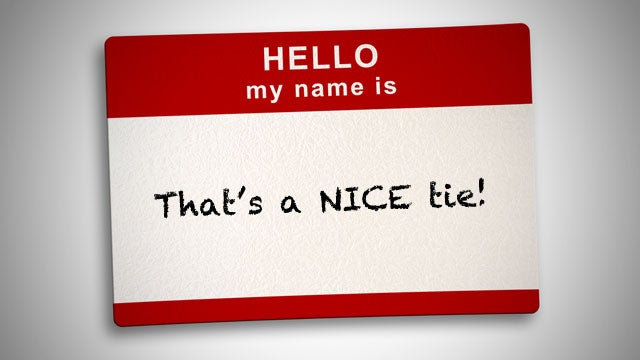 Diffuse Awkwardness with a Compliment When You've Forgotten Someone's Name