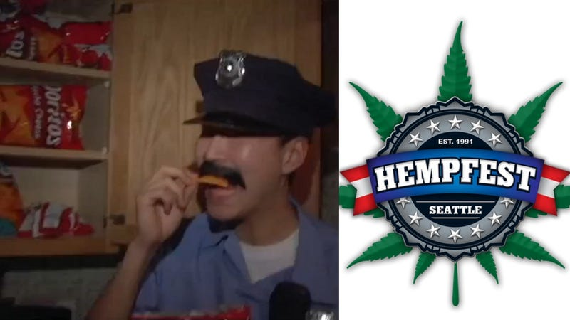Seattle Cops to Hand Out 'Ironic' Bags of Doritos at Hempfest