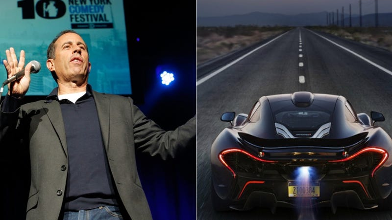 Jerry Seinfeld Can't Stand The 'Ugly' McLaren P1