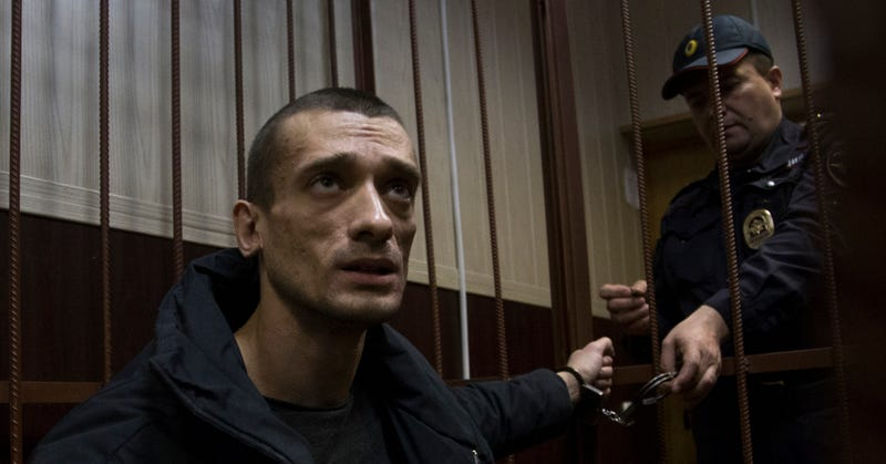 Russia's Anti-Police State Artist Nominated For Police State Prize