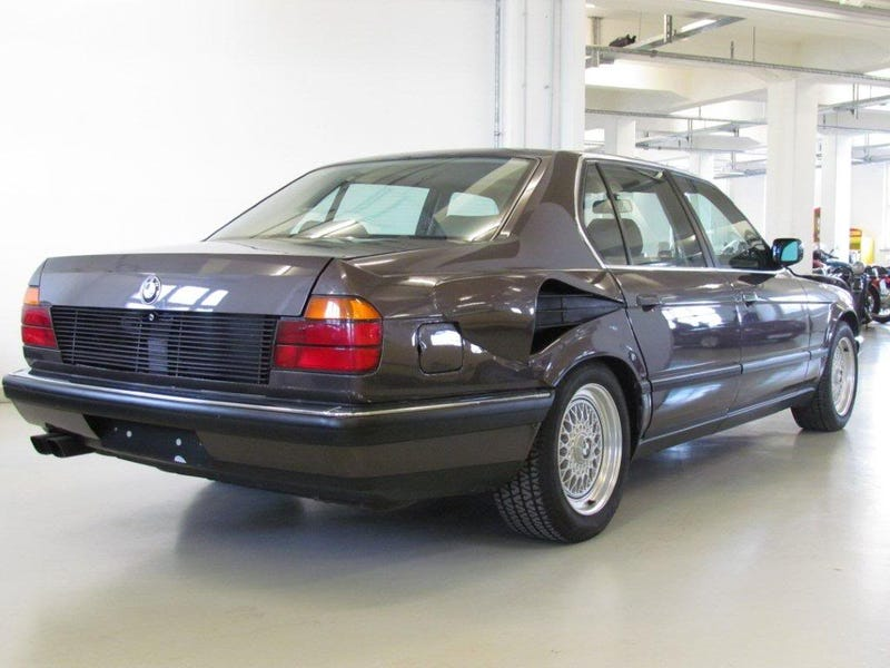 """The 16 cylinder BMW that almost was.... BMW 767i """"Goldfish"""""""