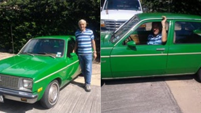 Now You Can Own Ron Paul's Lime Green 1979 Chevrolet Chevette