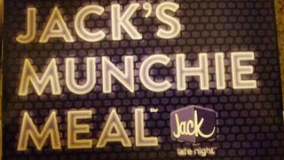 SnackTAYku: Jack's Stacked Grilled Cheese Burger  Munchie Meal