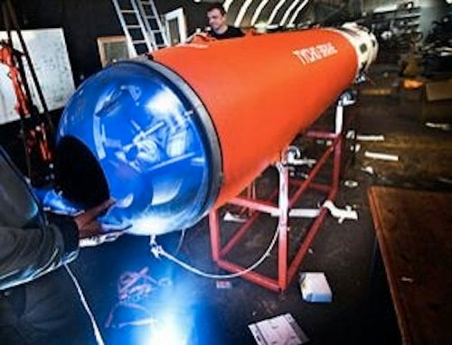 Human Cannonball Astronaut: My Rocket Is My Clothes