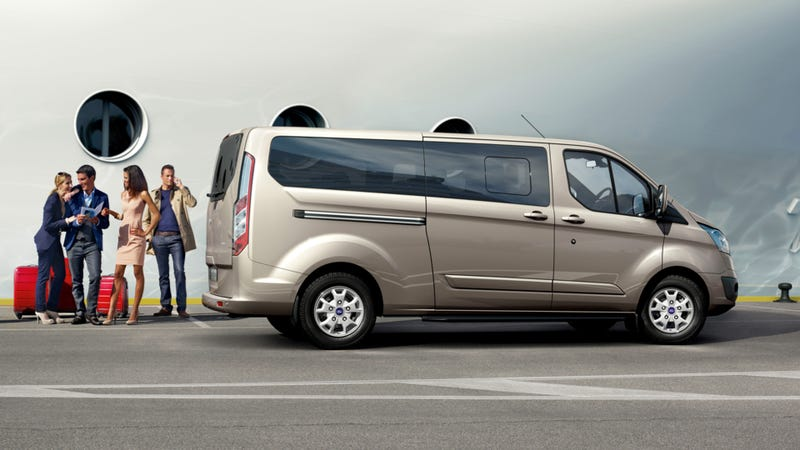Ford's New European Transit Van That We Should Have Here