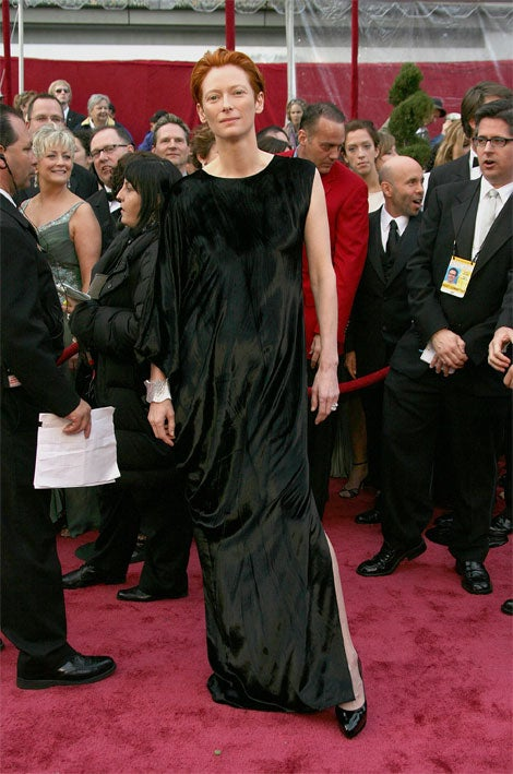 """Fishy"" Is Fabulous: Oscar Fashion 2008"