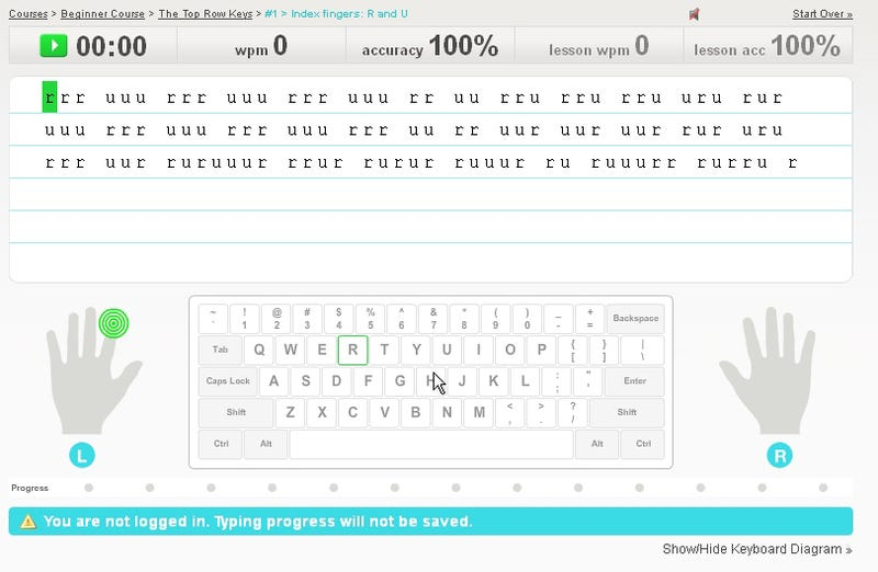 TypingWeb Offers Free Typing Lessons