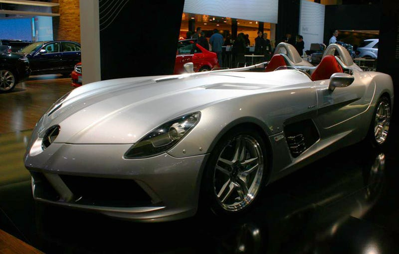 2009 Mercedes McLaren SLR Stirling Moss: $1.01 Million McLaren Madness