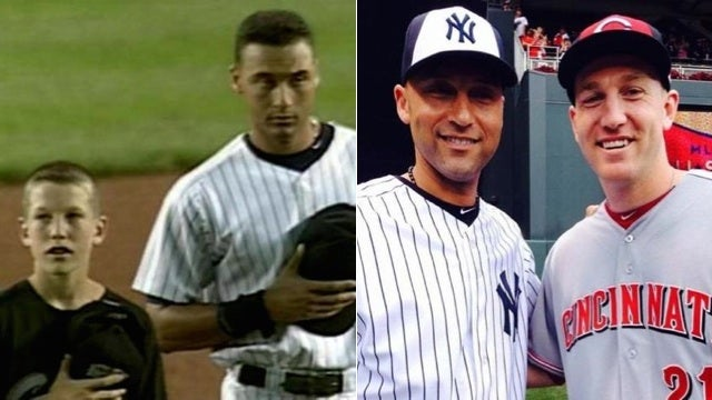 Derek Jeter And Todd Frazier, Together Again After 16 Years