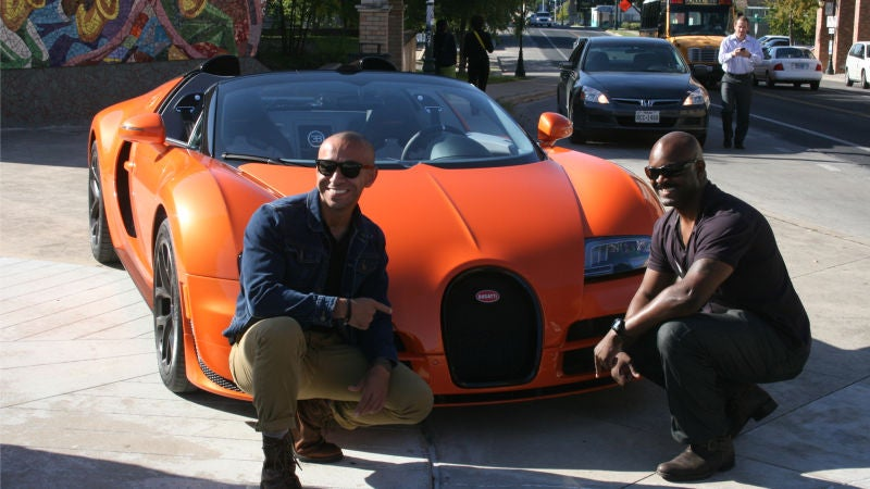 '18 Things You Learn Driving The $2.35 Million Bugatti Veyron Vitesse' from the web at 'http://i.kinja-img.com/gawker-media/image/upload/s--BtYz8-qA--/gsyyt8gzqpzejl6mmdxu.jpg'