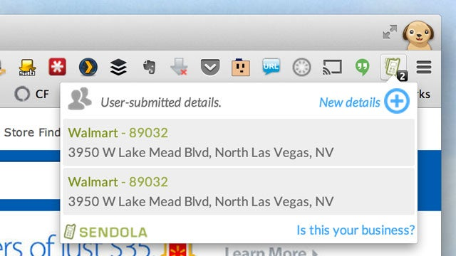 Sendola Pushes Contact Info from Company Web Sites to Your Phone