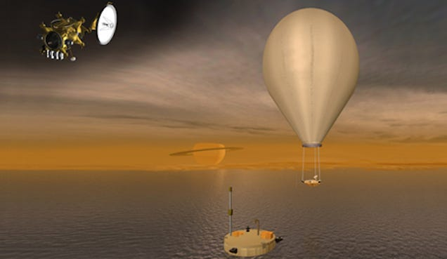 The Most Bizarre and Clever Ideas For Exploring Saturn's Moon Titan
