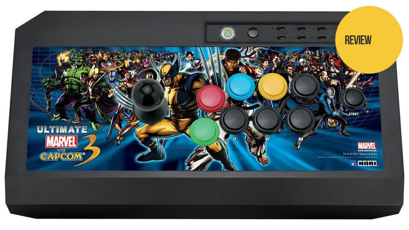 Kicking Faces With HORI's Ultimate Marvel Vs. Capcom 3 Stick