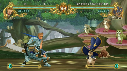 Battle Fantasia Coming To Europe, Bunny Wizard Intact