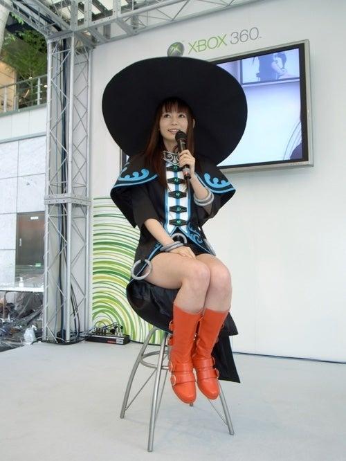Konami Publishing Ninety-Nine Nights II, Shoko Nakagawa In A Big Hat