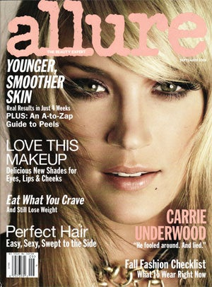 September Allure: I Wish You Would Step Back From That Ledge, Julia Stegner