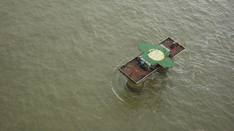 """Sealand: The Island Nation Founded by a Guy Calling """"Dibs"""""""