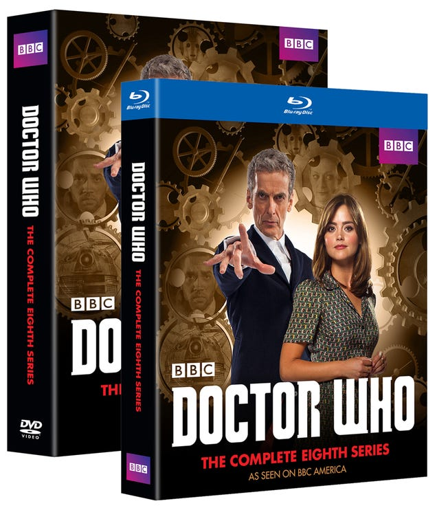 First Details About The Doctor Who Season 8 DVD Set!