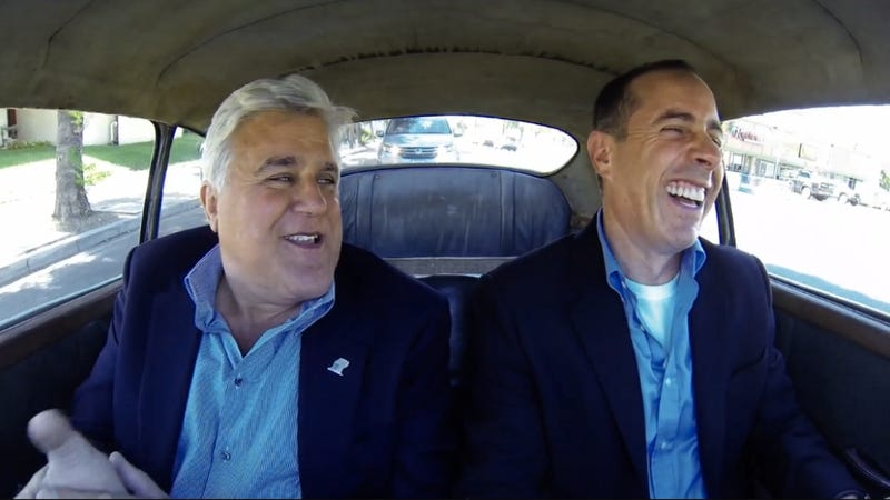 Jay Leno's Mom Hit Him In The Head With A Frying Pan For Doing A Burnout