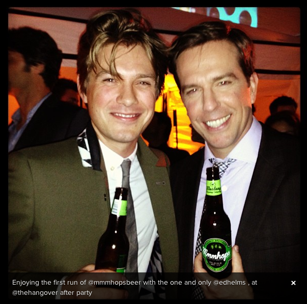 You Guys, Hanson Made a Beer Called MMMhops