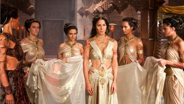 116 fleshy photos show off the many bare chests from Disney's John Carter