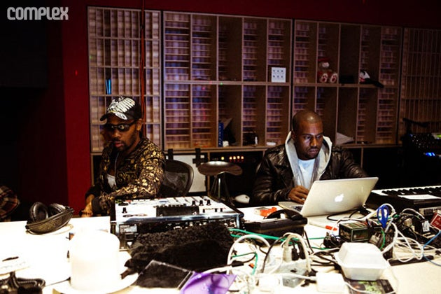 What Not To Do in Kanye West's Studio