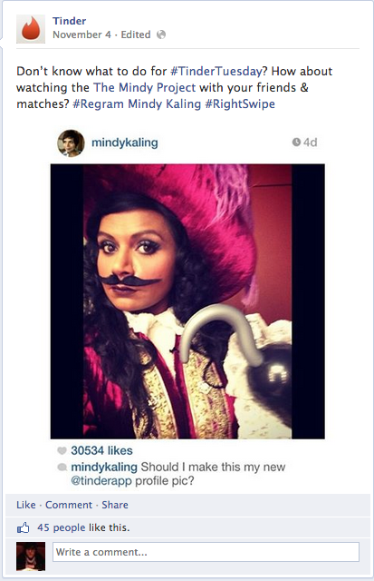 The Mindy Project Will Feature An Episode About Tinder
